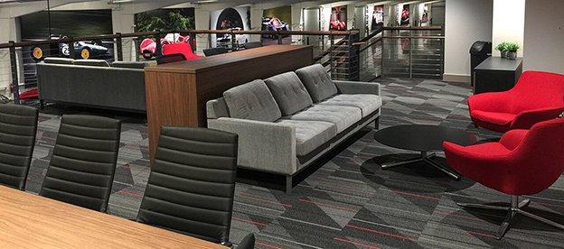Atlanta Motorcar - View of mezzanine lounge