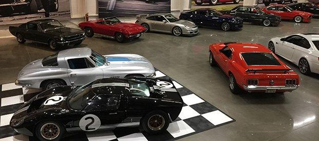 Atlanta Motorcar - View of car storage gallery